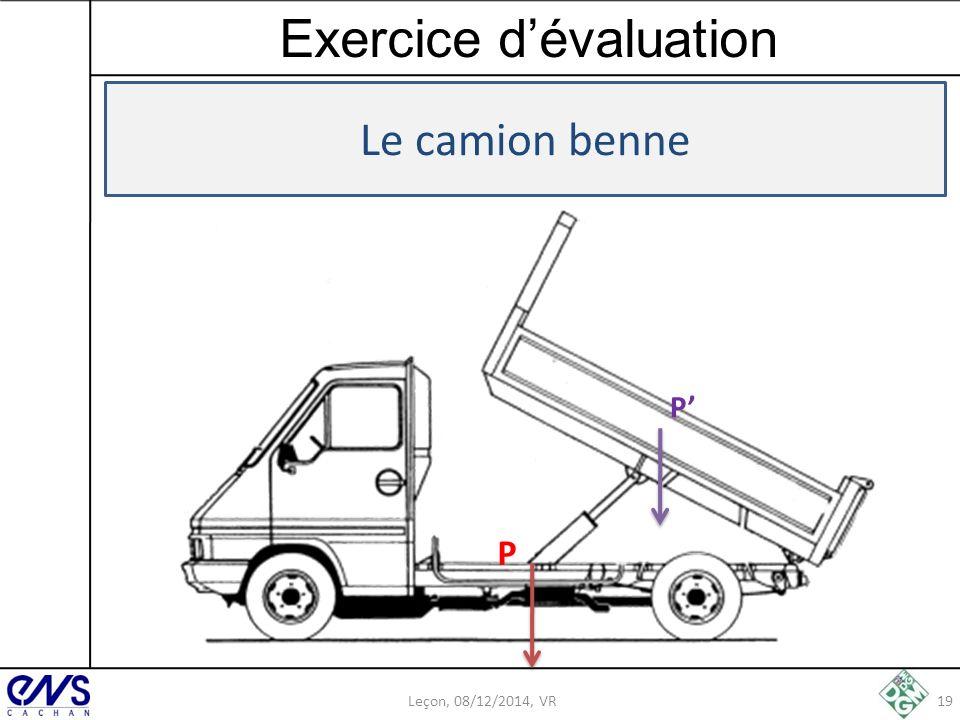 Exercice d'évaluation