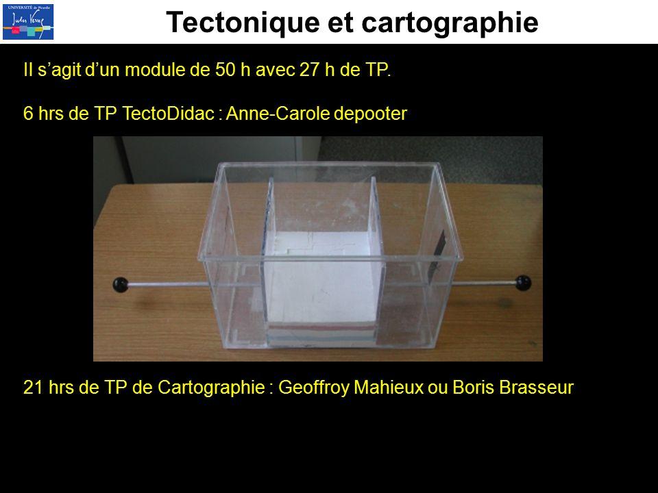 Tectonique et cartographie