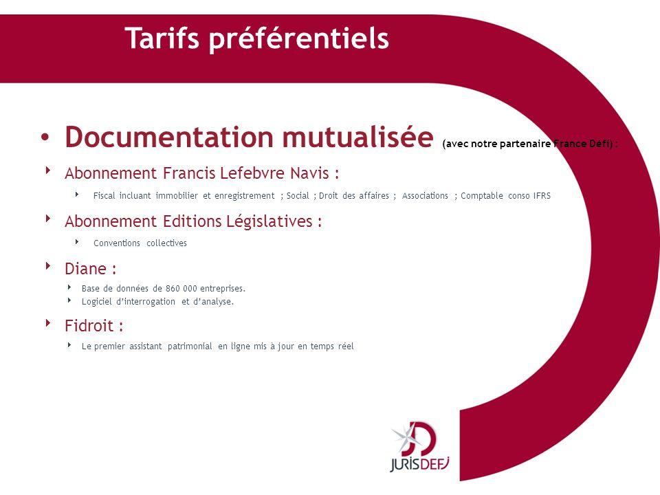 Documentation mutualisée (avec notre partenaire France Défi) :
