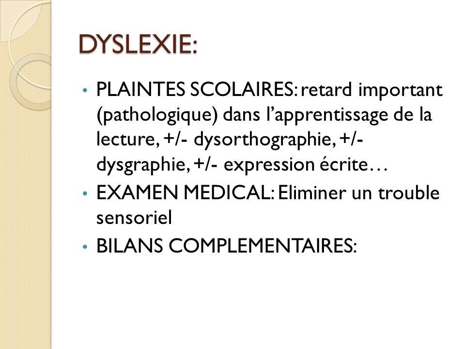 DYSLEXIE: