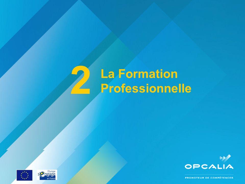 2 La Formation Professionnelle Enquête conjoncture 2010 Questionnaire