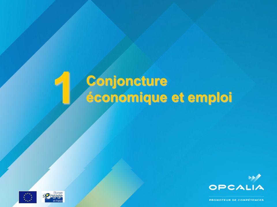1 Conjoncture économique et emploi Enquête conjoncture 2010