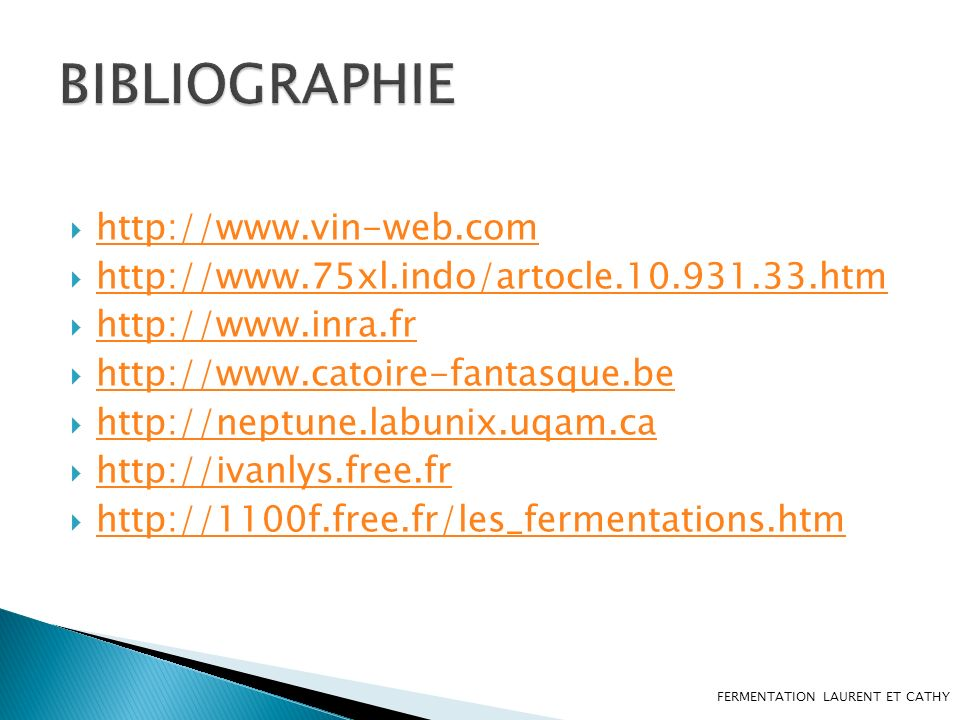 BIBLIOGRAPHIE http://www.vin-web.com