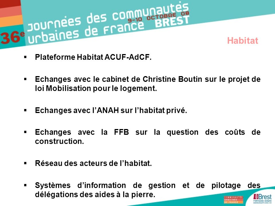 Habitat Plateforme Habitat ACUF-AdCF.
