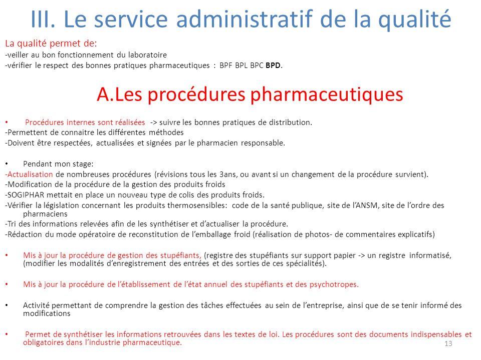 Stage en qualit et communication pharmaceutique ppt - Tri papier administratif ...