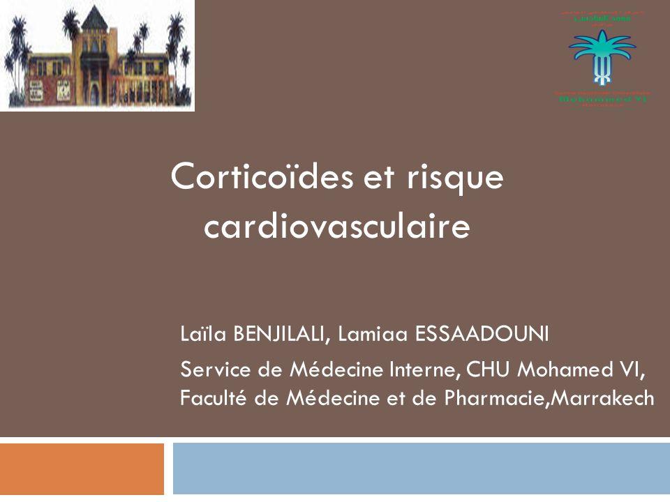 Corticoïdes et risque cardiovasculaire - ppt télécharger