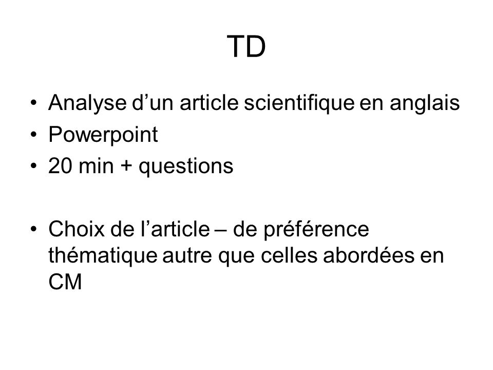 article scientifique en anglais pdf