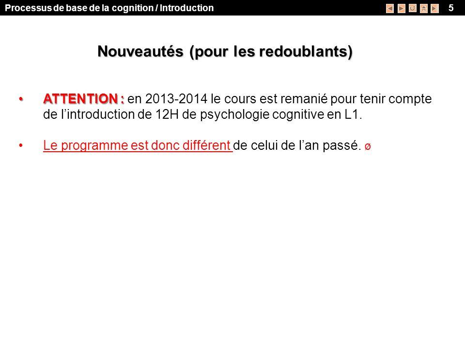 psychologie cognitive cours l1