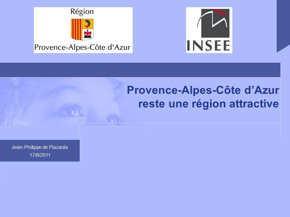 Provence-Alpes-Côte d'Azur reste une région attractive