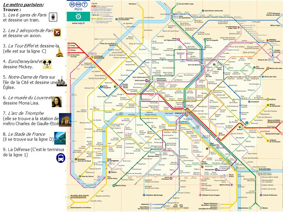 Le métro à Paris. - ppt télécharger