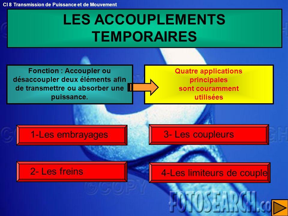 LES ACCOUPLEMENTS TEMPORAIRES