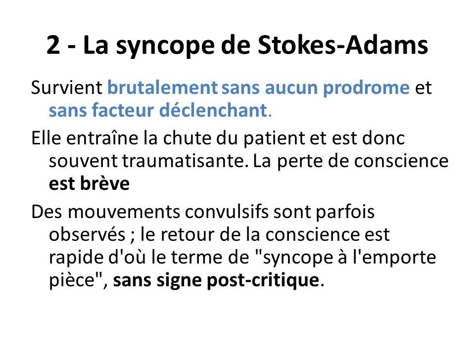 2 - La syncope de Stokes-Adams