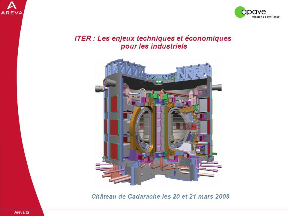 ITER : Les enjeux techniques et économiques pour les industriels