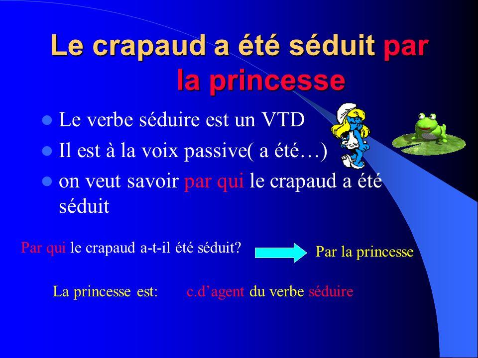Le crapaud a été séduit par la princesse