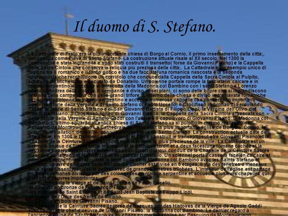 Il duomo di S. Stefano.