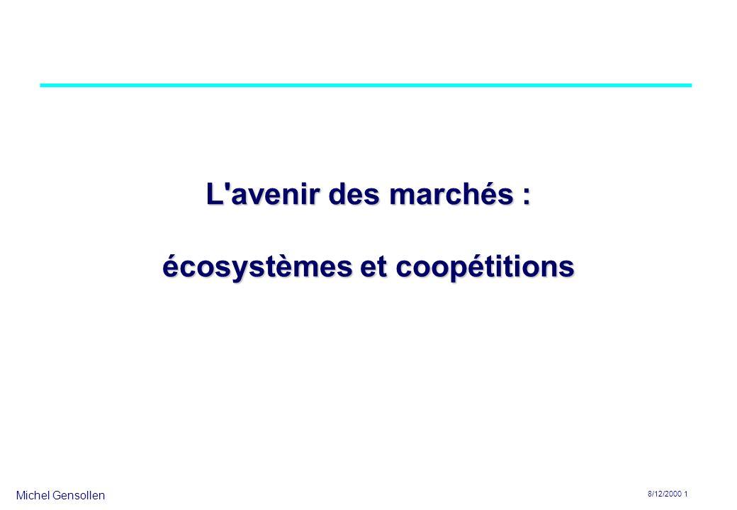 L avenir des marchés : écosystèmes et coopétitions