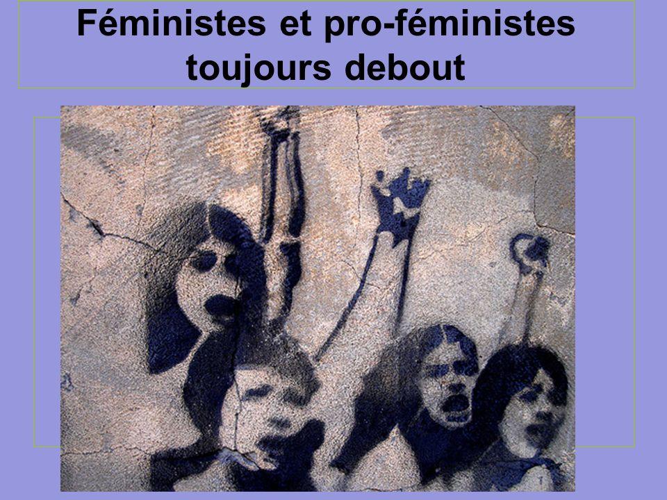 Féministes et pro-féministes toujours debout