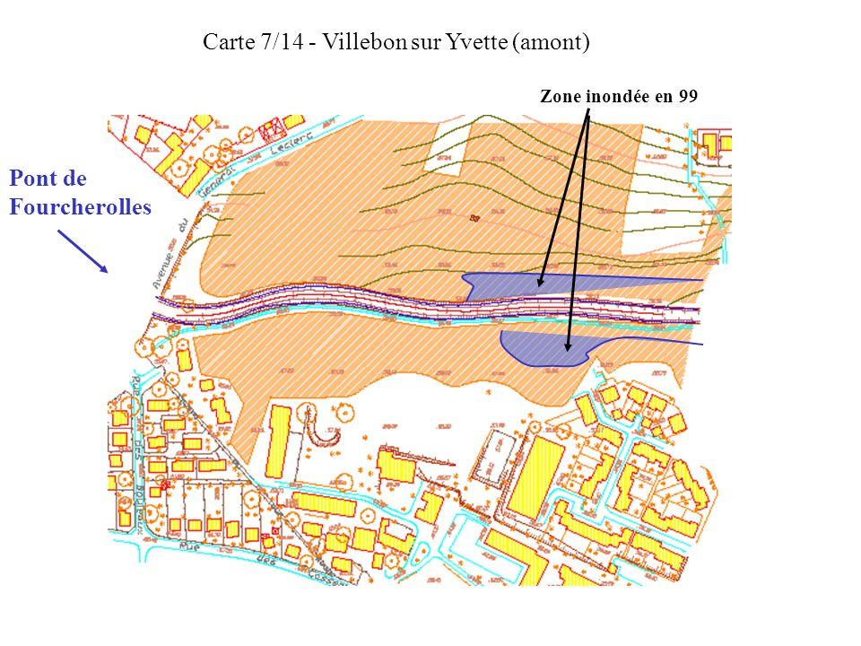 Carte 7/14 - Villebon sur Yvette (amont)