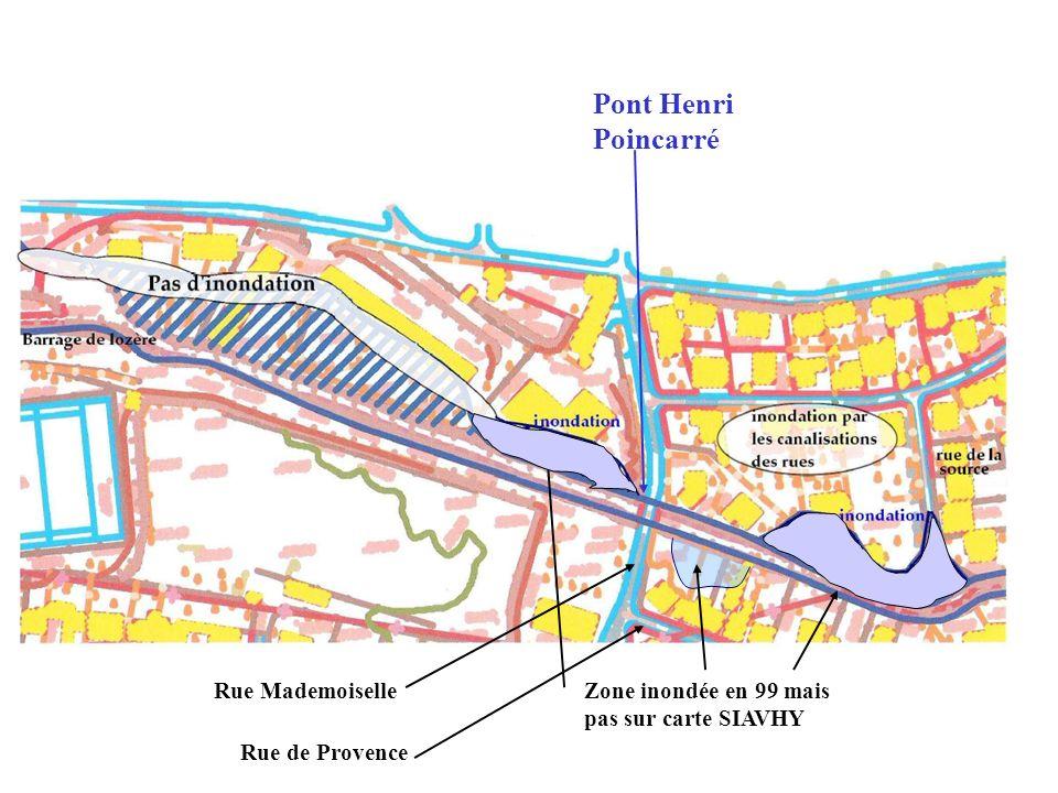 Pont Henri Poincarré Rue Mademoiselle