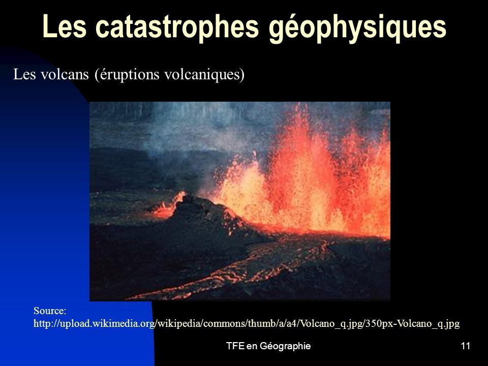 Les catastrophes géophysiques