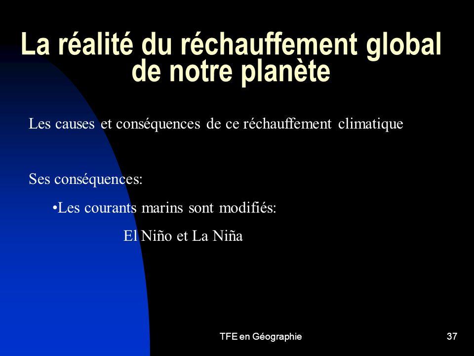 La réalité du réchauffement global de notre planète