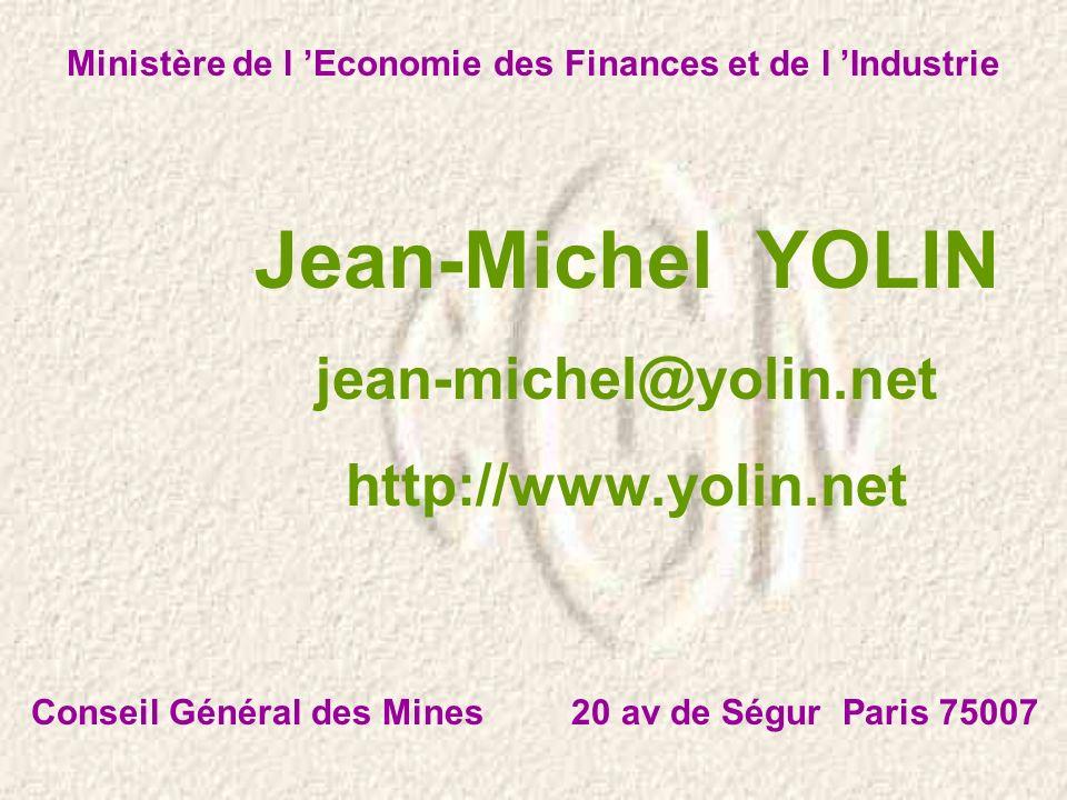 Ministère de l 'Economie des Finances et de l 'Industrie