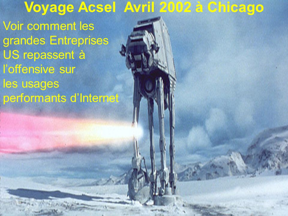 Voyage Acsel Avril 2002 à Chicago