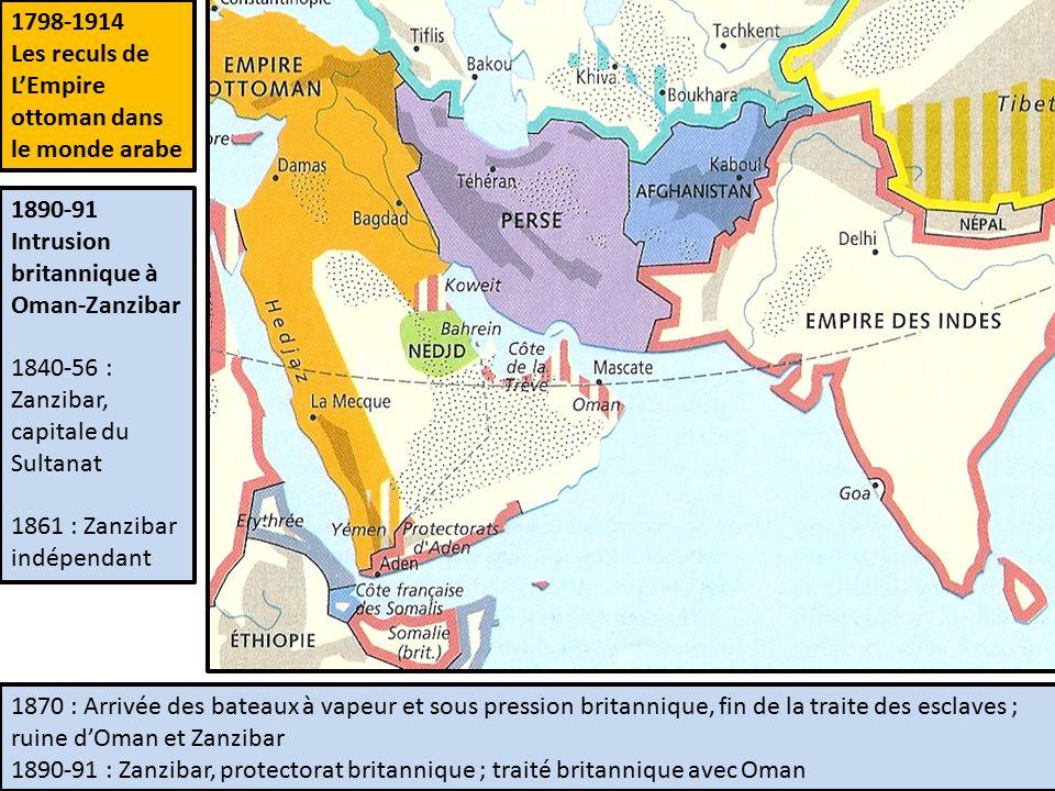Universit populaire du pays salonais cycle histoire du monde l imp rialisme europ en et le - La carte de l empire ottoman ...