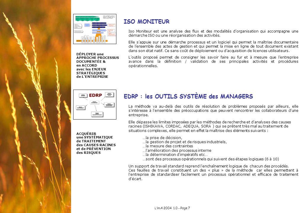 EDRP : les OUTILS SYSTÈME des MANAGERS
