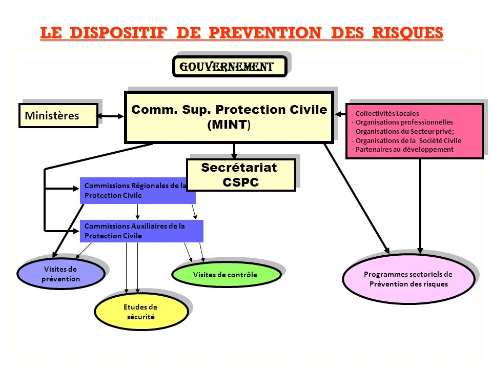 LE DISPOSITIF DE PREVENTION DES RISQUES