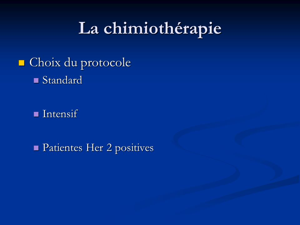 Cancer du sein diagnostic d pistage ppt video online t l charger - Protocole chambre implantable ...