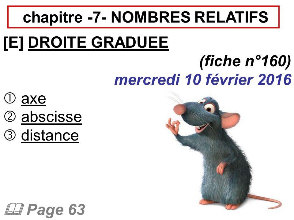 chapitre -7- NOMBRES RELATIFS