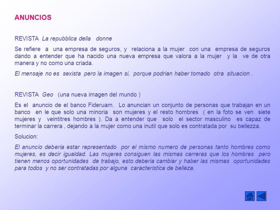 ANUNCIOS REVISTA La repubblica della donne