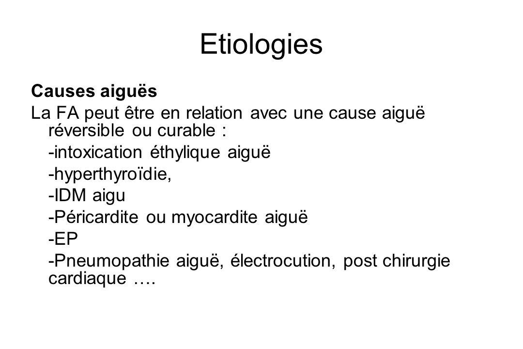 Etiologies Causes aiguës