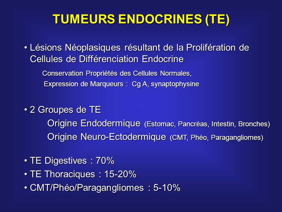 TUMEURS ENDOCRINES (TE)