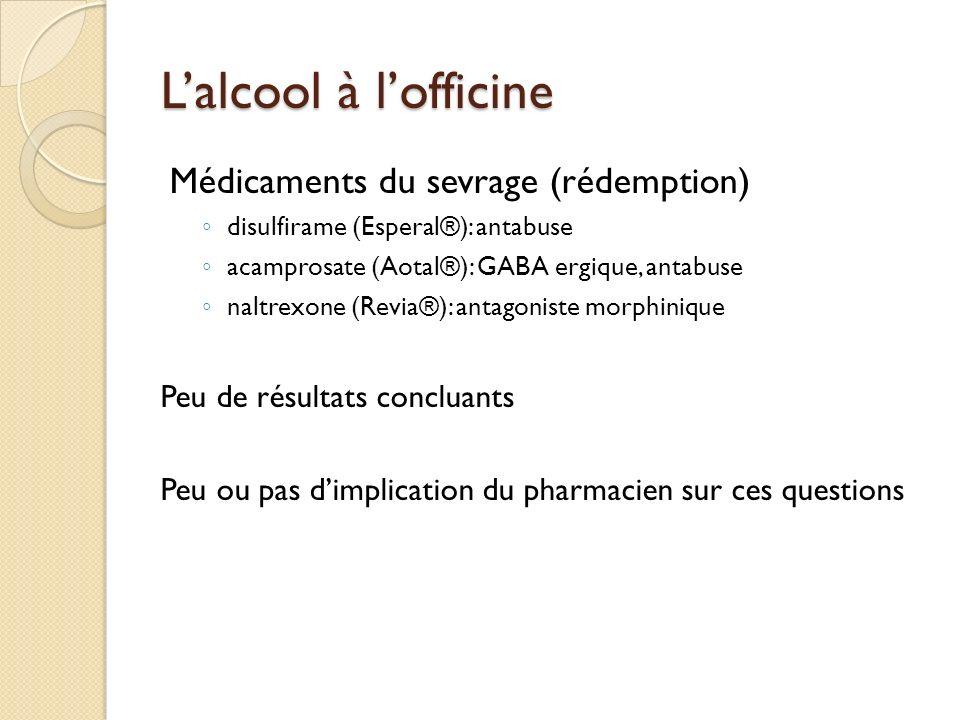 Le Pharmacien et les Addictions: un autre regard sur l