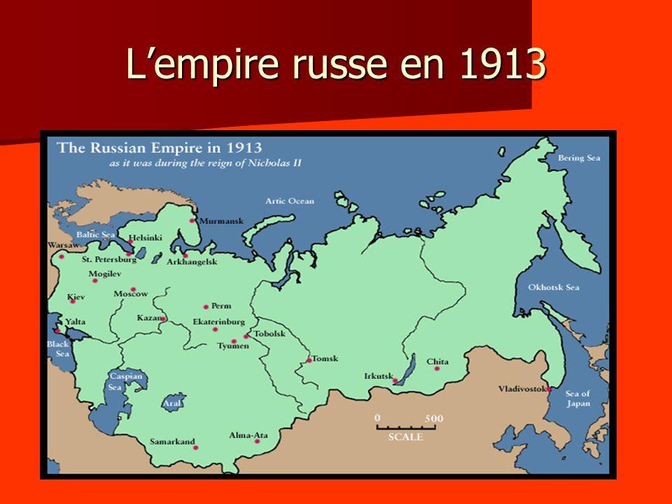 L'empire russe en 1913