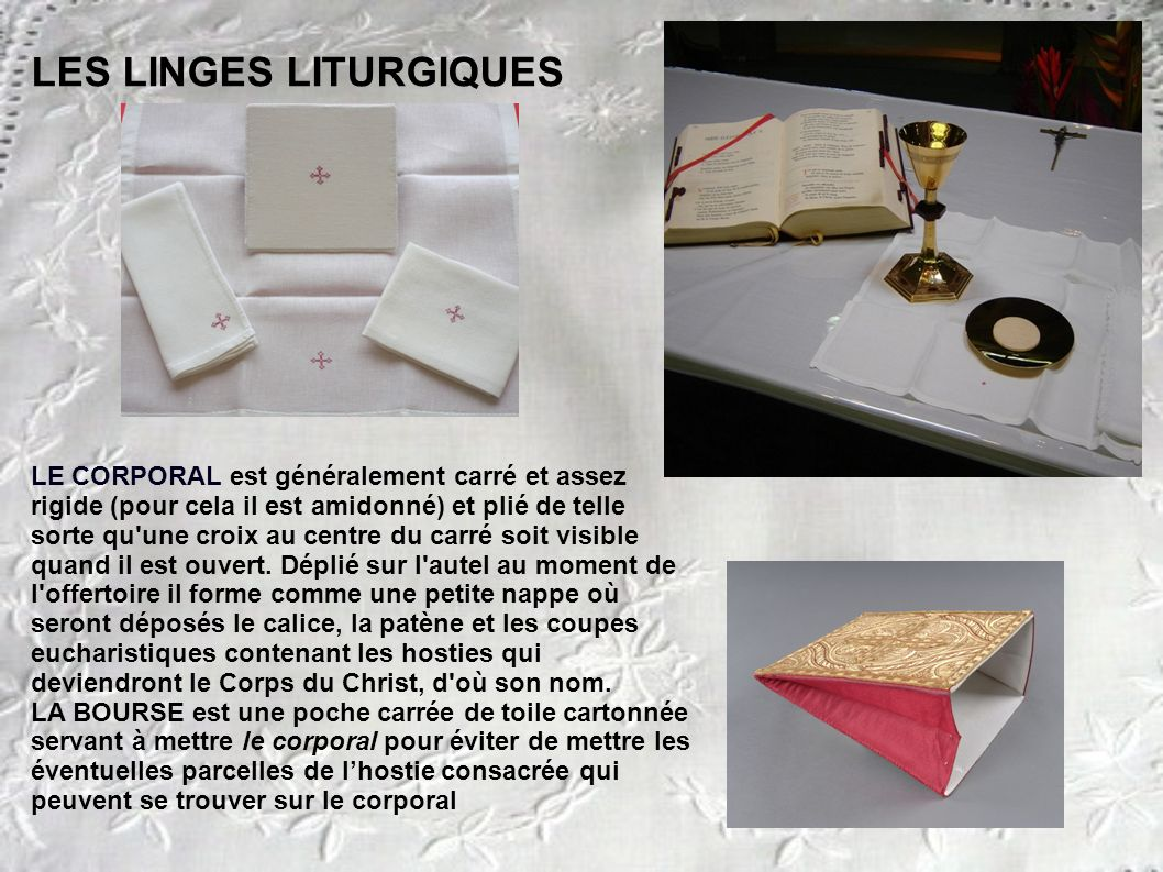 les ornements et les objets liturgiques ppt video online t l charger. Black Bedroom Furniture Sets. Home Design Ideas