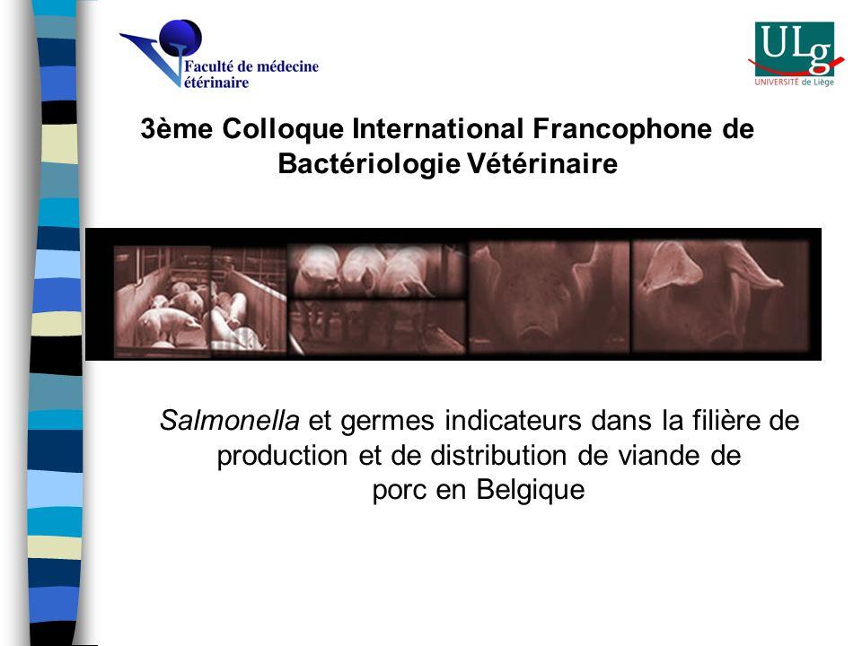 3ème Colloque International Francophone de Bactériologie Vétérinaire