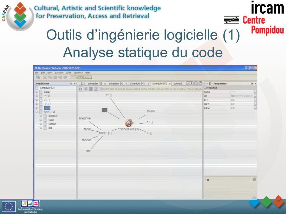 Outils d'ingénierie logicielle (1) Analyse statique du code
