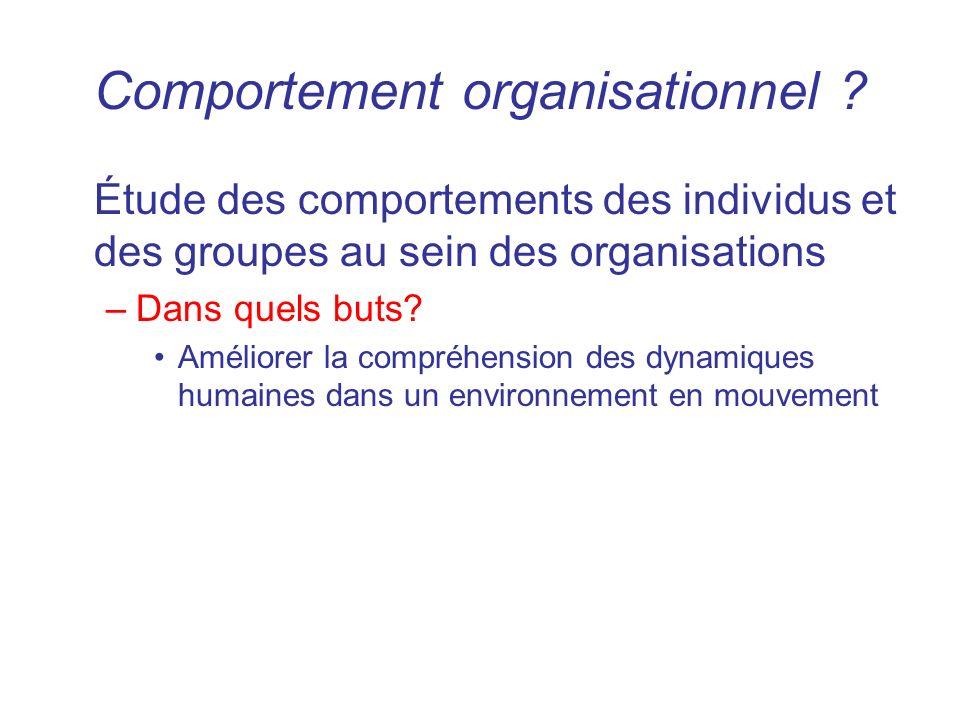 Comportement organisationnel mng 1001 section z1 ppt video online t l charger - Organisation m u00e9nage quotidien ...