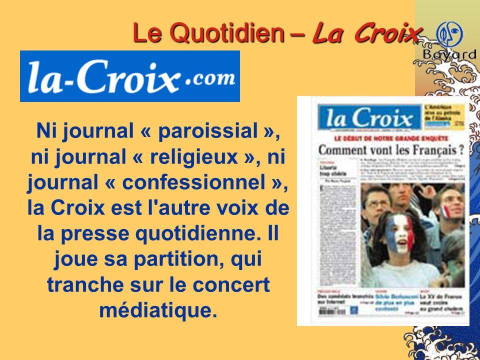 Le Quotidien – La Croix