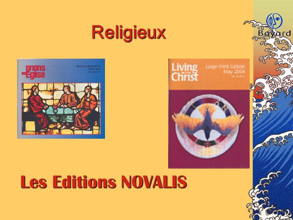 Religieux Les Editions NOVALIS