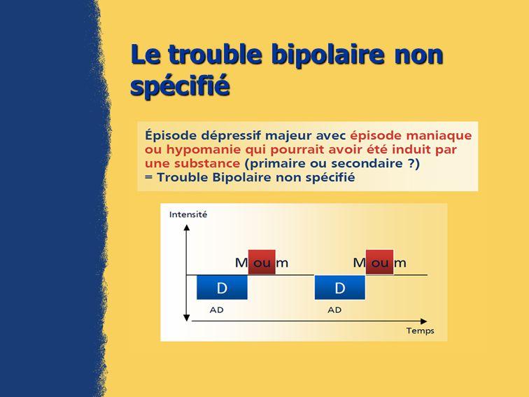 Le trouble bipolaire non spécifié