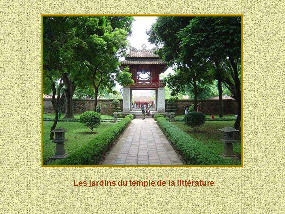 Les jardins du temple de la littérature