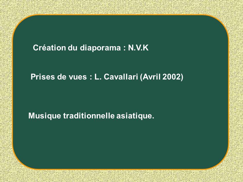 Création du diaporama : N.V.K