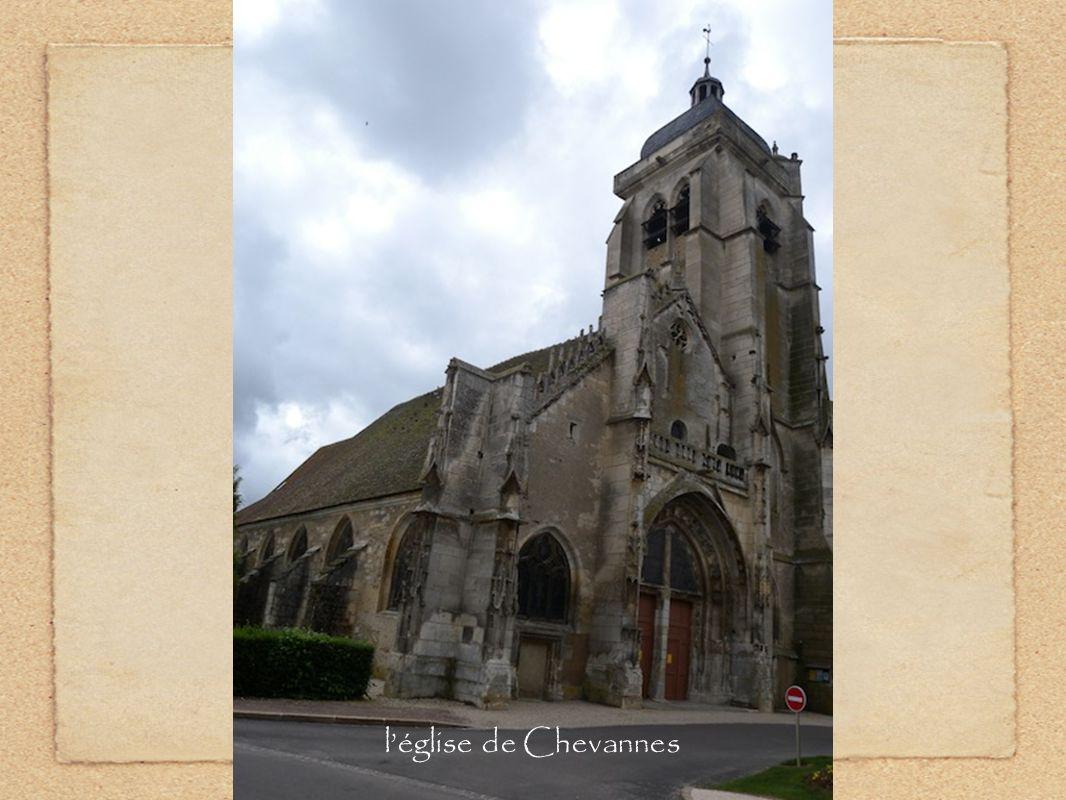 l'église de Chevannes