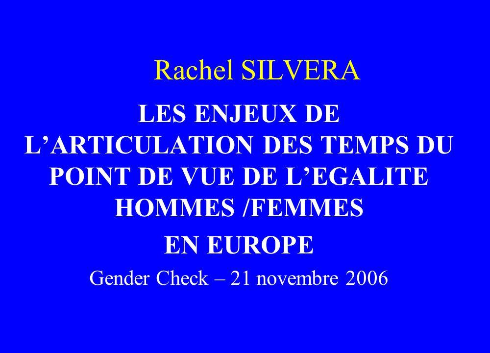 Gender Check – 21 novembre 2006