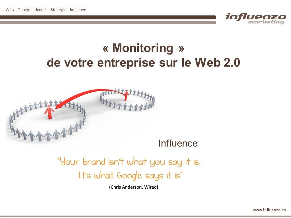 « Monitoring » de votre entreprise sur le Web 2.0