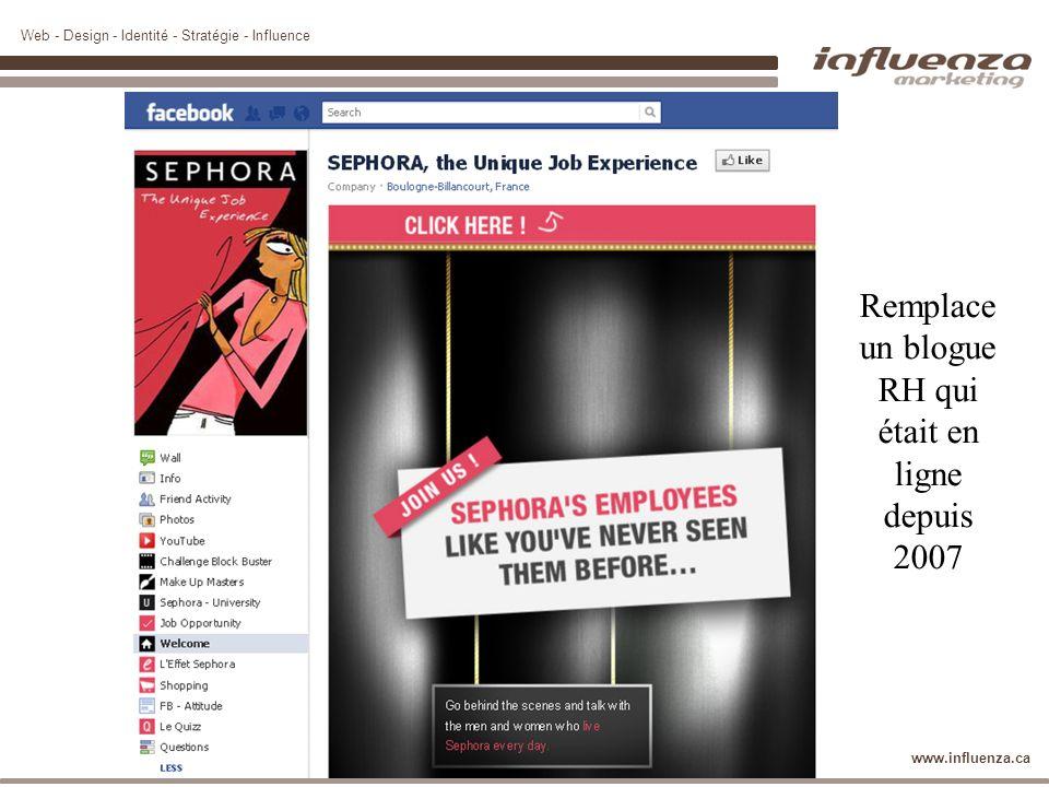 Remplace un blogue RH qui était en ligne depuis 2007